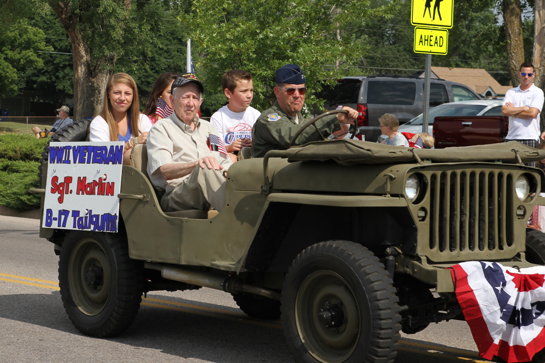 McConnell Air Force Base Restored Jeep