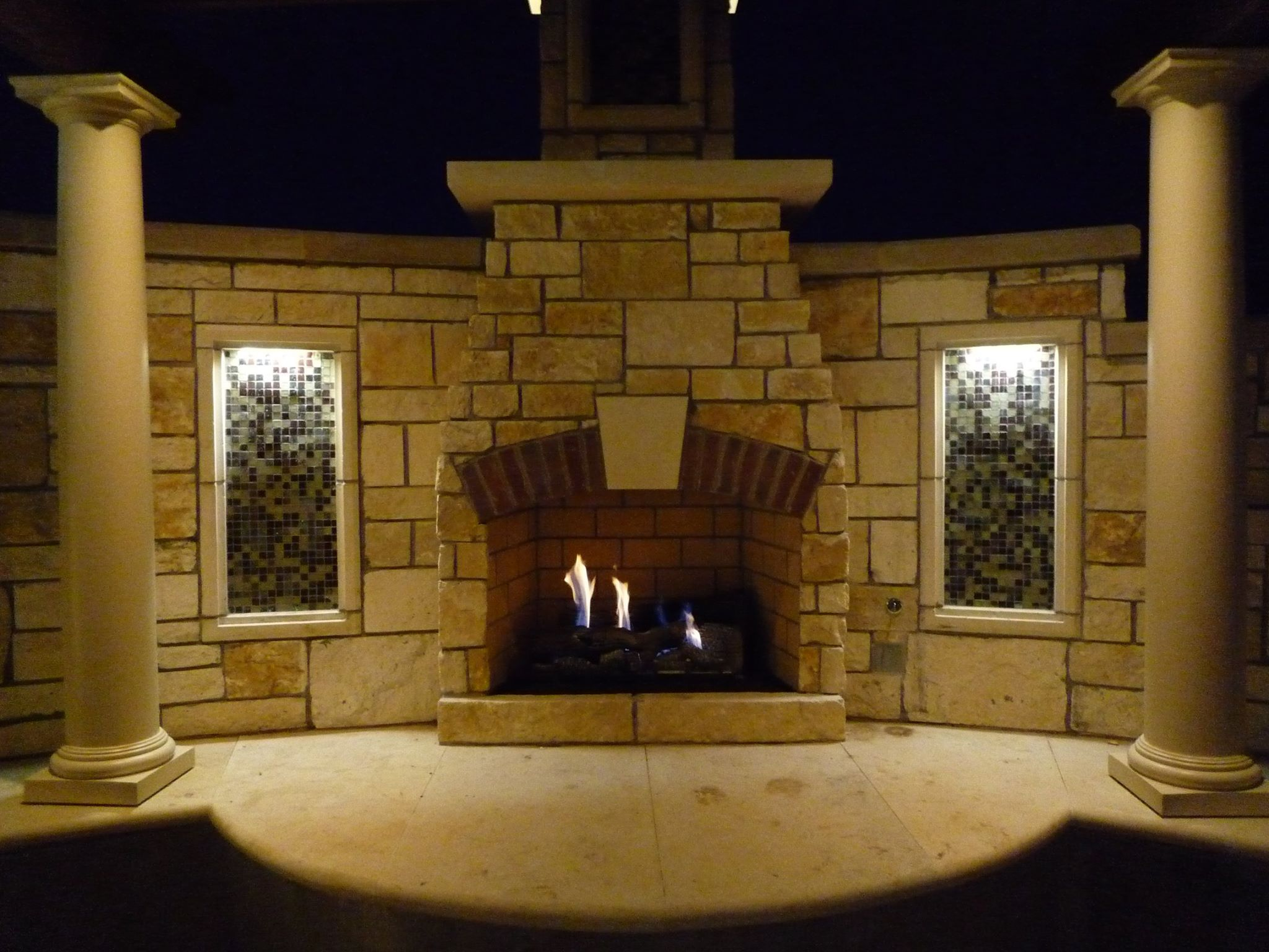 The Fireside Patio